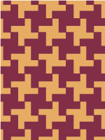 Dog's tooth pattern