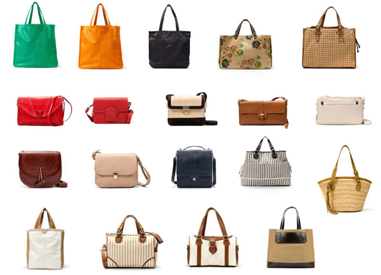 Types of purses and handbags–a visual guide to purse types