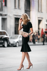The classic Little Black Dress ( LBD)